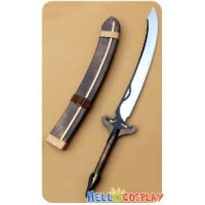 Tales Of The Abyss Cosplay Luke Fon Fabre Scimitar Weapon Prop