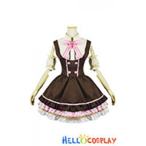 Love Live Cosplay Nico Yazawa Maid Dress