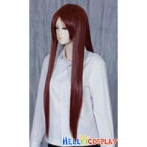 Darkest Brown Medium Cosplay Straight Wig