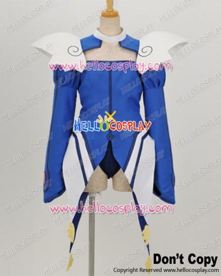 Kaito Tenshi Twin Angel Cosplay Aoi Kannazuki Blue Uniform Costume