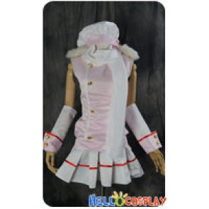 Vocaloid 2 Cosplay Hatsune Miku Pink Satin Dress Costume