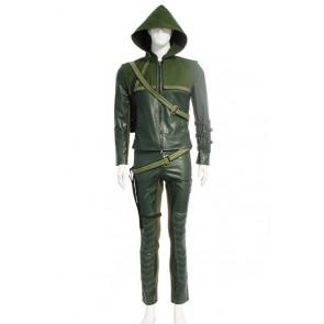 Green Arrow Oliver Queen Cosplay Costume
