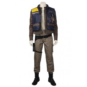 Rogue One A Star Wars Story Cassian Andor Cosplay Costume