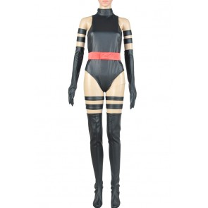 X Men Apocalypse Psylocke Cosplay Costume Jumpsuit