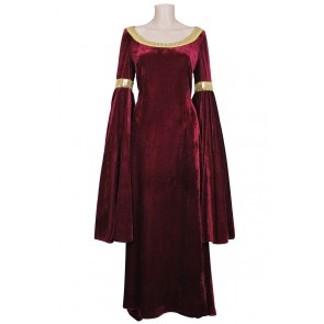 The Lord of the Rings Arwen Dress Red
