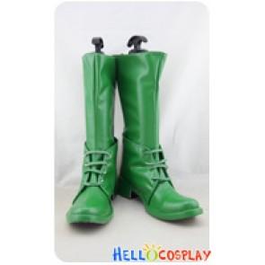 JoJo's Bizarre Adventure Cosplay Shoes Caesar Green Boots