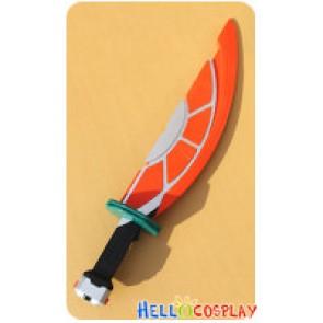 Kamen Rider Gaim Cosplay Kouta Kazuraba Orange Arms Daidaimaru Weapon