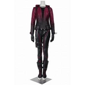Green Arrow Season 4 Queen Speedy Thea Cosplay Costume
