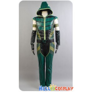 Green Arrow Cosplay Hoodie New Version Professional Costume