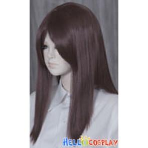 Deep Brown 50cm Cosplay Straight Wig