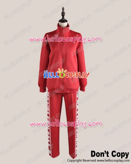 Haikyū Cosplay Volleyball Juvenile Red Sportswear Uniform Costume