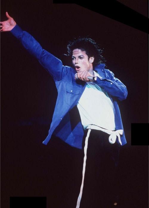 Michael Jackson Performance Blue Shirt