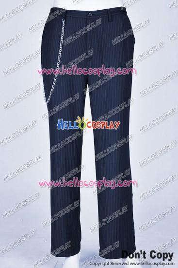 Batman The Joker Cosplay Costume Stripes Pants