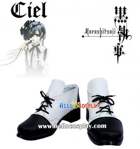 Black Butler II Cosplay Ciel Phantomhive Shoes