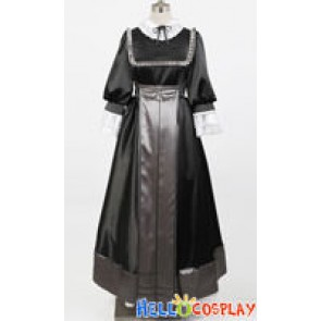 Gosick Cosplay Victorique de Blois Black Dress