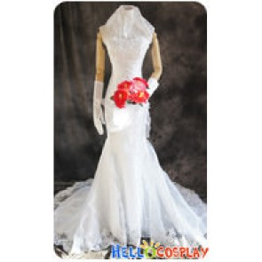 One Piece Cosplay Boa Hancock Wedding Dress Costume