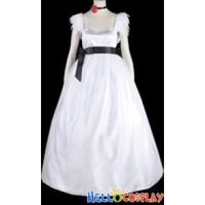 Vocaloid 2 Cosplay Hatsune Miku Dress White