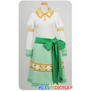 Kobato Cosplay Kobato Hanato Green Dress Costume With Hat
