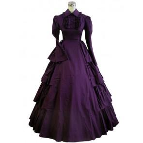 Victorian Lolita Vintage Party Gothic Lolita Dress Purple