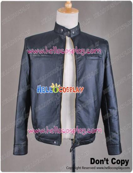 17 Again Seventeen Again Mike Jacket Black Leather