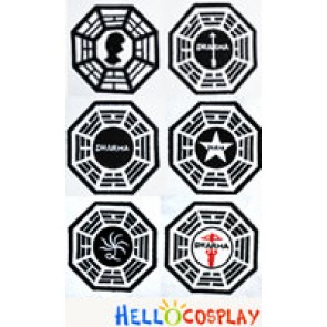 Lost Cosplay Costume Dharma Initiative Accurate Patch