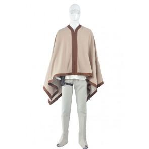 Star Wars Luke Skywalker Cosplay Costume Cape Outfits
