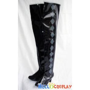 Puella Magi Madoka Magica Cosplay Homura Akemi Boots