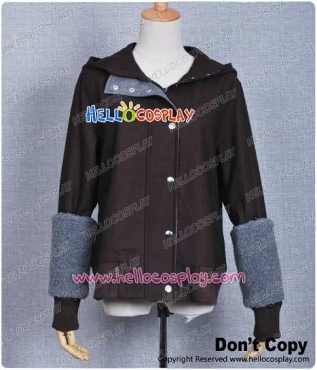 Twilight Costume New Moon Bella Swan Brown Wool Jacket Coat