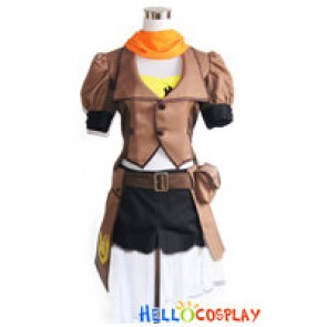 RWBY Cosplay Yellow Trailer Yang Xiao Long Uniform Costume New