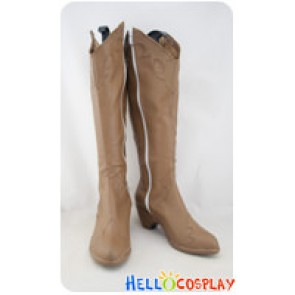 Resident Evil Cosplay Shoes Claire Redfield Boots