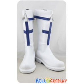 Sword Art Online SAO Cosplay Shoes Yuuki Asuna Boots