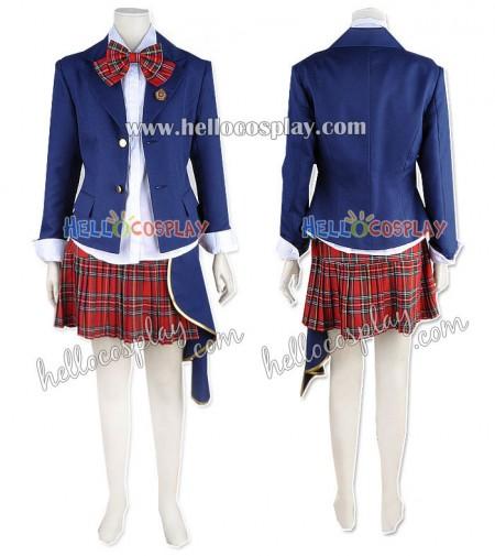 Katekyo Hitman Reborn Cosplay Kyoko Sasagawa School Uniform