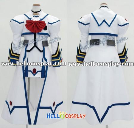 Nanoha Cosplay Barrier Jacket Costume