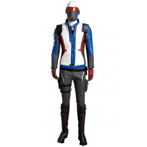 Overwatch Cosplay Soldier 76 Costume Uniform