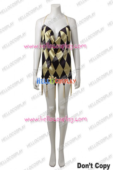 Suicide Squad Harley Quinn Cosplay Costume Dress