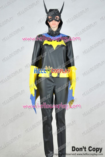 Batgirl Supergirl Barbara Gordon Jumpsuit Cosplay Costume