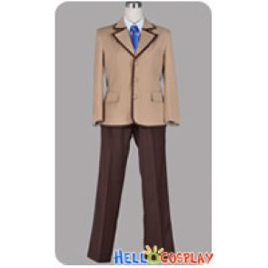 Mahōtsukai No Yoru Cosplay Soujuurou Shizuki Boy Uniform Costume
