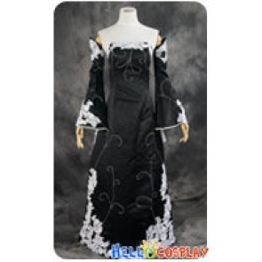 Vocaloid 2 Cosplay Megurine Luka Black Formal Dress Costume
