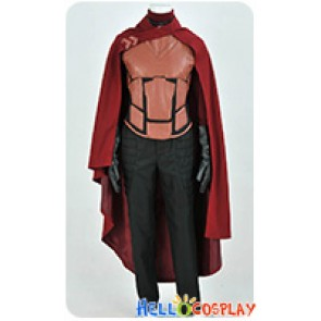 X-men Erik Lehnsherr Magneto Cosplay Costume Uniform