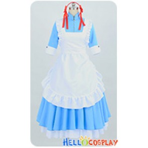 Kagerou Project Cosplay Mekakushi Dan 4th Member Marry Kozakura Maid Dress Costume