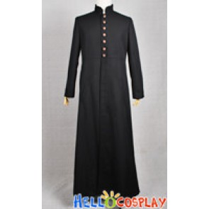 The Matrix Cosplay Neo Black Trench Coat