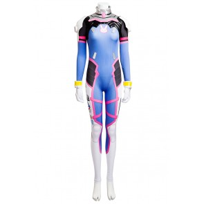 Overwatch Cosplay D Va Costume Jumpsuit