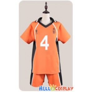 Haikyū Cosplay Volleyball Juvenile The 4th Ver Sports Uniform Costume