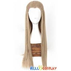 The Hobbit The Lord Of The Rings Prince Legolas Cosplay Wig