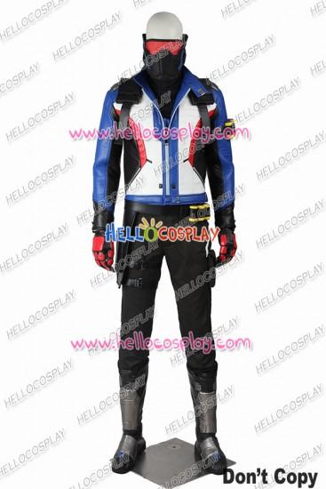Overwatch Soldier 76 Cosplay Costume Uniform