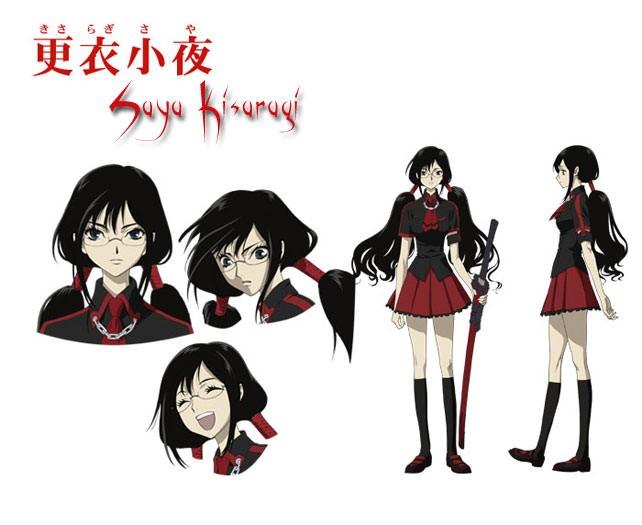 Blood-C Saya Kisaragi female uniform cosplay costume