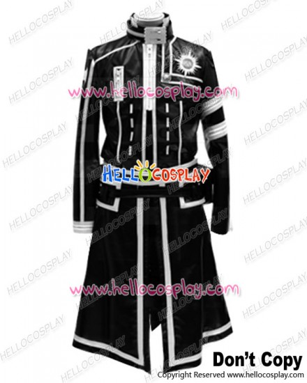 D Gray Man Cosplay Allen Walker Black White Uniform Costume