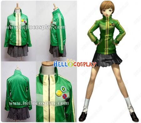 Persona 4 Cosplay Chie Satonaka Costume