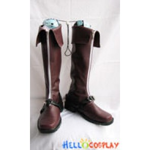 Touhou Project Cosplay Renko Usami Boots Brown