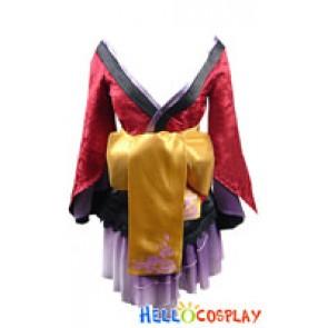 Vocaloid Project Diva Cosplay Megurine Luka Costume Kimono